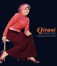 busana muslim remaja bahan kaos - Qirani