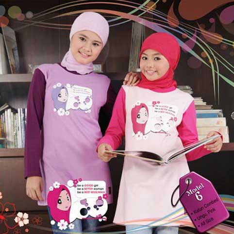 Qirani - All Season's Trendy - Busana Muslim Remaja Ber